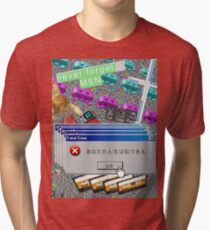 Vaporwave Seapunk much cool Tri-blend T-Shirt