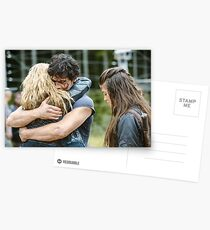 The 100 - Bellarke Hug Postcards