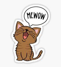 MEWOW! Sticker