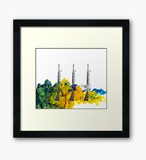 Proud Guns - Green Gamer Framed Print