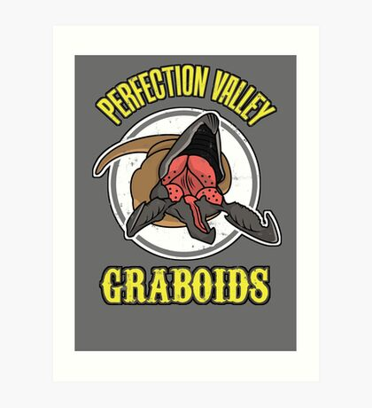 Perfection Valley Graboids Art Print