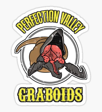 Perfection Valley Graboids Sticker