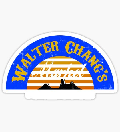 Walter Chang's Market Sticker