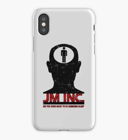 JM Inc. from Being John Malkovich iPhone Case/Skin