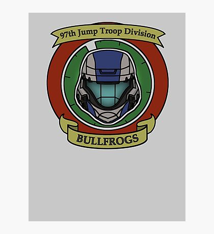 The Bullfrogs Insignia Photographic Print