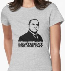 Downton Abbey Carson Excitement Tshirt T-Shirt