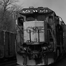 CSX in black and white by jammingene
