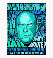 HANK SCHRADER Photographic Print