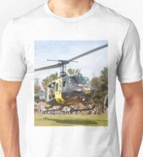 Huey Eagle One Helicopter Unisex T-Shirt