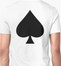 ACE, Ace of Spades, Black, Music, Motorbike, Hells Angels, Gang, Gamble, Cards T-Shirt