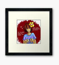 Love Pellets Framed Print