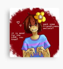 Love Pellets Canvas Print
