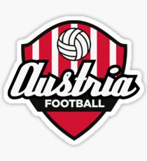 Football coat of arms of Austria Sticker