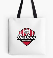 Football coat of arms of Austria Tote Bag