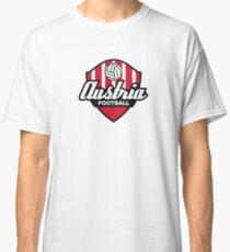 Football coat of arms of Austria Classic T-Shirt