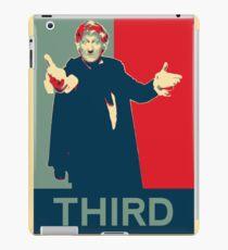 Third doctor - Fairey's style iPad Case/Skin