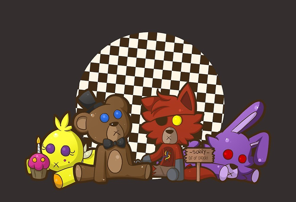 Five Nights At Build A Bears by madammassacre