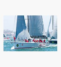Sailing Yacht Wild Oats X1 Photographic Print