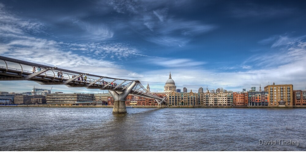 London Panorama by David Tinsley