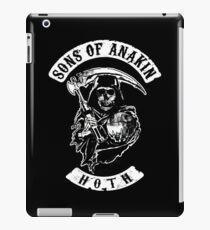 Sons of Anakin - starwars inspired biker patch iPad Case/Skin