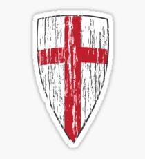 Crusader Knights Templar Cross Sticker