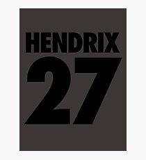 HENDRIX - 27 Photographic Print