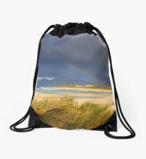 Light and Land Drawstring Bag