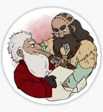 Balin and Dwalin Sticker