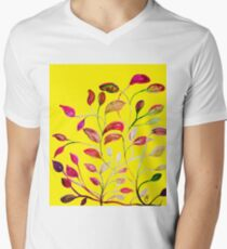 Red and Green Leaves! Yellow Sunshine! T-Shirt
