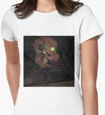 Blood Moon Sorceress Womens Fitted T-Shirt