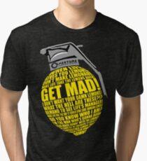 Portal 2 combustible lemon quote Tri-blend T-Shirt