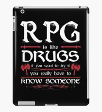 RPG - Roleplay Game iPad Case/Skin