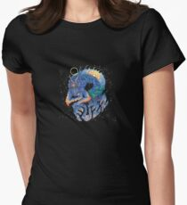 Fuzz Womens Fitted T-Shirt