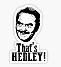 THAT'S HEDLEY! Sticker