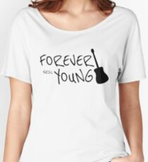 Forever Neil Young Rock Music Gift Women's Relaxed Fit T-Shirt