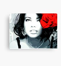 Lima Rose Canvas Print