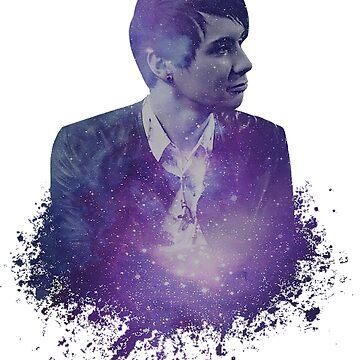 Dan & Phil   Galaxy Dan  by Felizia00