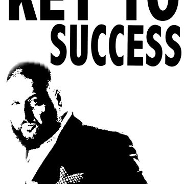 DJ Khaled KEY TO SUCCESS by designbook