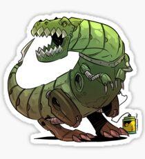 Robot T-rex Sticker
