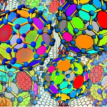 """""""Buckyball Nanos""""© by LisaCClark"""