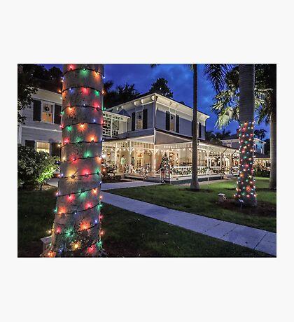 Seminole House - Edison's Winter Retreat Photographic Print