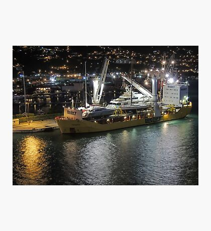 Yacht Delivery Photographic Print