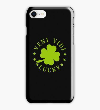 Veni vidi lucky VRS2 iPhone Case/Skin