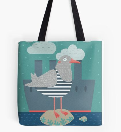 A seagull Tote bag