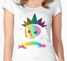 Hella Gay  Women's Fitted Scoop T-Shirt