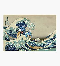 The Great Wave Off Gyarados Photographic Print