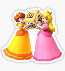 Princess Peach and Daisy Sticker