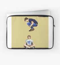 Broken Pixel - Brothers Can't Be Friends Laptop Sleeve