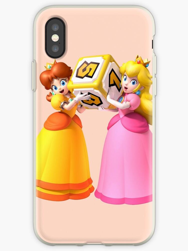 Princess Peach and Daisy by miafey