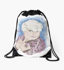 Broken Pixel - Rose Drawstring Bag